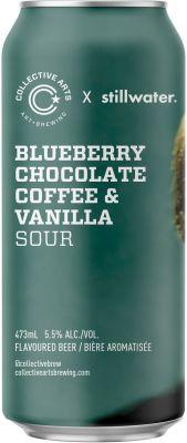 [kuva: Collective Arts Blueberry Chocolate Coffee & Vanilla Sour tölkki(© Alko)]