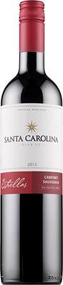 [kuva: Santa Carolina Estrellas Cabernet Sauvignon 2014(© Alko)]