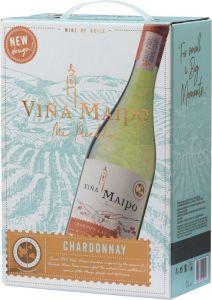 [kuva: Viña Maipo Chardonnay 2018 hanapakkaus(© Alko)]