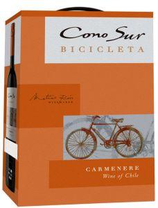[kuva: Cono Sur Bicicleta Carmenère 2018 hanapakkaus(© Alko)]