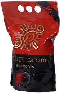 [kuva: Espíritu de Chile Selección Red viinipussi(© Alko)]