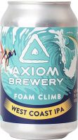 [kuva: Axiom Foam Climb West Coast IPA tölkki]