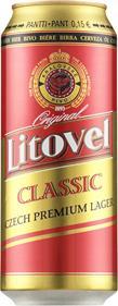 [kuva: Litovel Premium Czech Lager  tölkki(© Alko)]