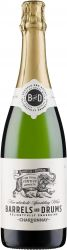 [kuva: Barrels and Drums Chardonnay Non-alcoholic Sparkling]