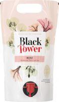 [kuva: Black Tower Rose 2020 viinipussi]