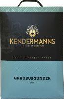[kuva: Kendermanns Grauburgunder Dry 2017 hanapakkaus]