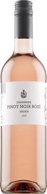 [kuva: Zähringer Pinot Noir Rosé 2016(© Alko)]