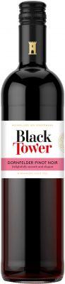 [kuva: Black Tower Dornfelder Pinot Noir 2018(© Alko)]