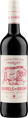 [kuva: Barrels and Drums Merlot Alcohol Free(© Alko)]