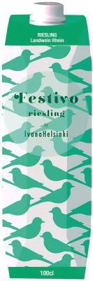 [kuva: Festivo Riesling kartonkitölkki(© Alko)]