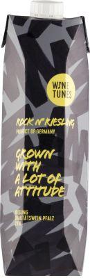 [kuva: Wine Tunes Rock'n Riesling 2020 kartonkitölkki(© Alko)]
