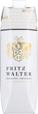 [kuva: Fritz Walter Riesling Trocken 2020 kartonkitölkki(© Alko)]