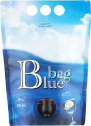 [kuva: Blue Bag 2011 viinipussi(© Alko)]