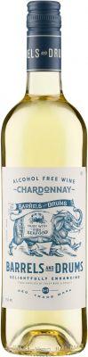 [kuva: Barrels and Drums Chardonnay Alcohol Free(© Alko)]