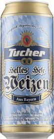 [kuva: Tucher Helles Hefe Weizen  tölkki(© Alko)]