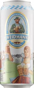 [kuva: Weidmann Weissbier Hefeweizen  tölkki(© Alko)]