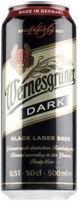 [kuva: Wernesgrüner Dark Lager tölkki(© Alko)]