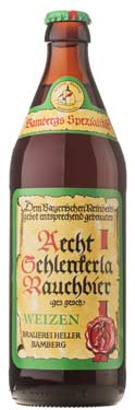 [kuva: Aecht Schlenkerla Rauchbier Weizen(© Alko)]
