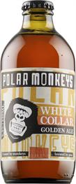 [kuva: Polar Monkeys White Collar Golden Ale(© Alko)]