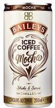 [kuva: Baileys Iced Coffee Mocha tölkki(© Alko)]
