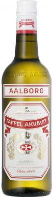 [kuva: Aalborg Taffel Akvavit(© Alko)]
