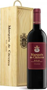Marqués de Cáceres Crianza 2015 lahjapakkaus