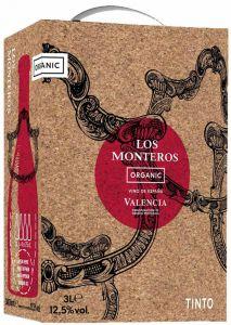 [kuva: Los Monteros Tinto hanapakkaus(© Alko)]