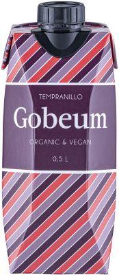 [kuva: Gobeum Organic Tempranillo 2020 kartonkitölkki(© Alko)]