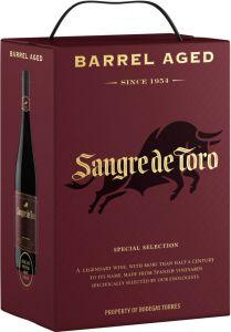 Sangre de Toro Barrel Aged 2016 hanapakkaus