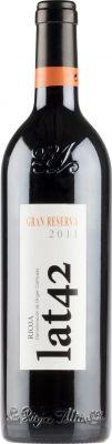 [kuva: La Rioja Alta Lat 42 Gran Reserva 2013(© Alko)]