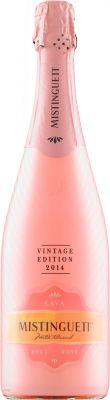 [kuva: Mistinguett Vintage Edition Rosé Cava Brut 2018(© Alko)]