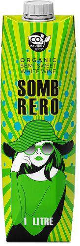 [kuva: Sombrero Semi Sweet Organic 2020 kartonkitölkki(© Alko)]