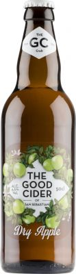 [kuva: The Good Cider of San Sebastian Dry Apple(© Alko)]
