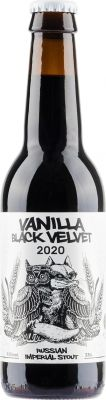[kuva: La Quince & Cervesa Guineu Vanilla Black Velvet 2020(© Alko)]