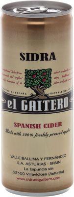[kuva: El Gaitero Spanish Cider tölkki(© Alko)]