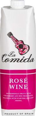 [kuva: La Comida Rosé kartonkitölkki(© Alko)]