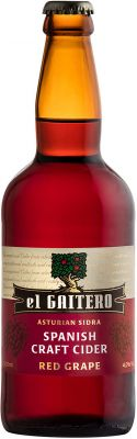 [kuva: El Gaitero Red Grape Craft Cider(© Alko)]