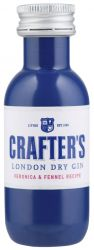 [kuva: Crafter's London Dry Gin muovipullo]