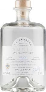 [kuva: J.J.Kurberg Rukis Rye Malt Vodka(© Alko)]