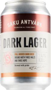 [kuva: Saku Antvärk Dark Lager tölkki(© Alko)]