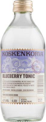 [kuva: Koskenkorva Vodka Blueberry Tonic(© Alko)]