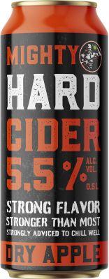 [kuva: Mighty Hard Cider tölkki(© Alko)]