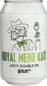 [kuva: Lehe Royal Mehu Kati Juicy Double IPA tölkki(© Alko)]
