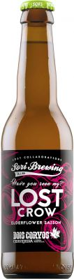 [kuva: Sori Lost Crow Elderflower Saison(© Alko)]