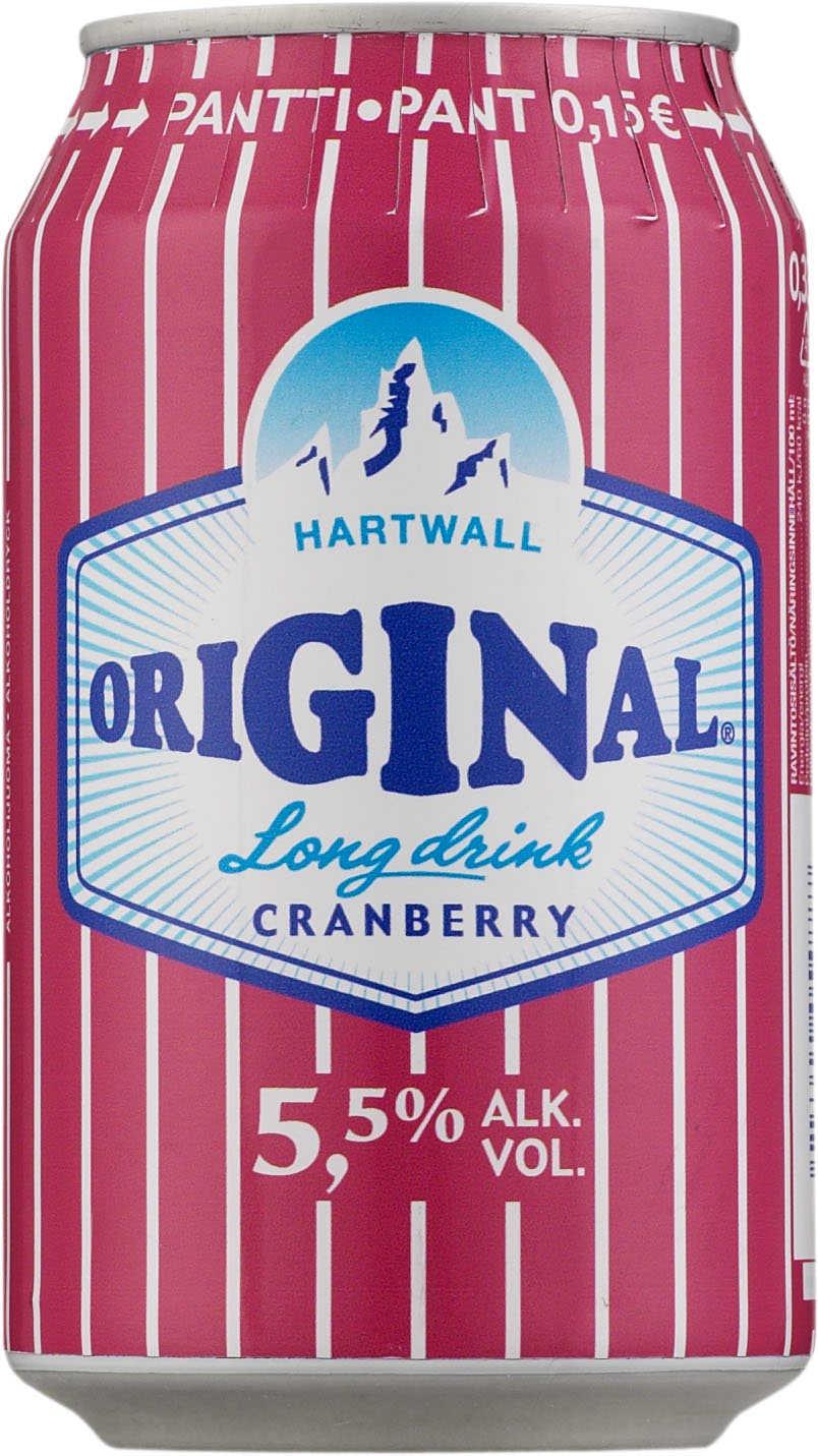 Original Long Drink Cranberry tölkki (0.33 l) - long drinkit - Suomi - 705064 - Viinikartta.fi