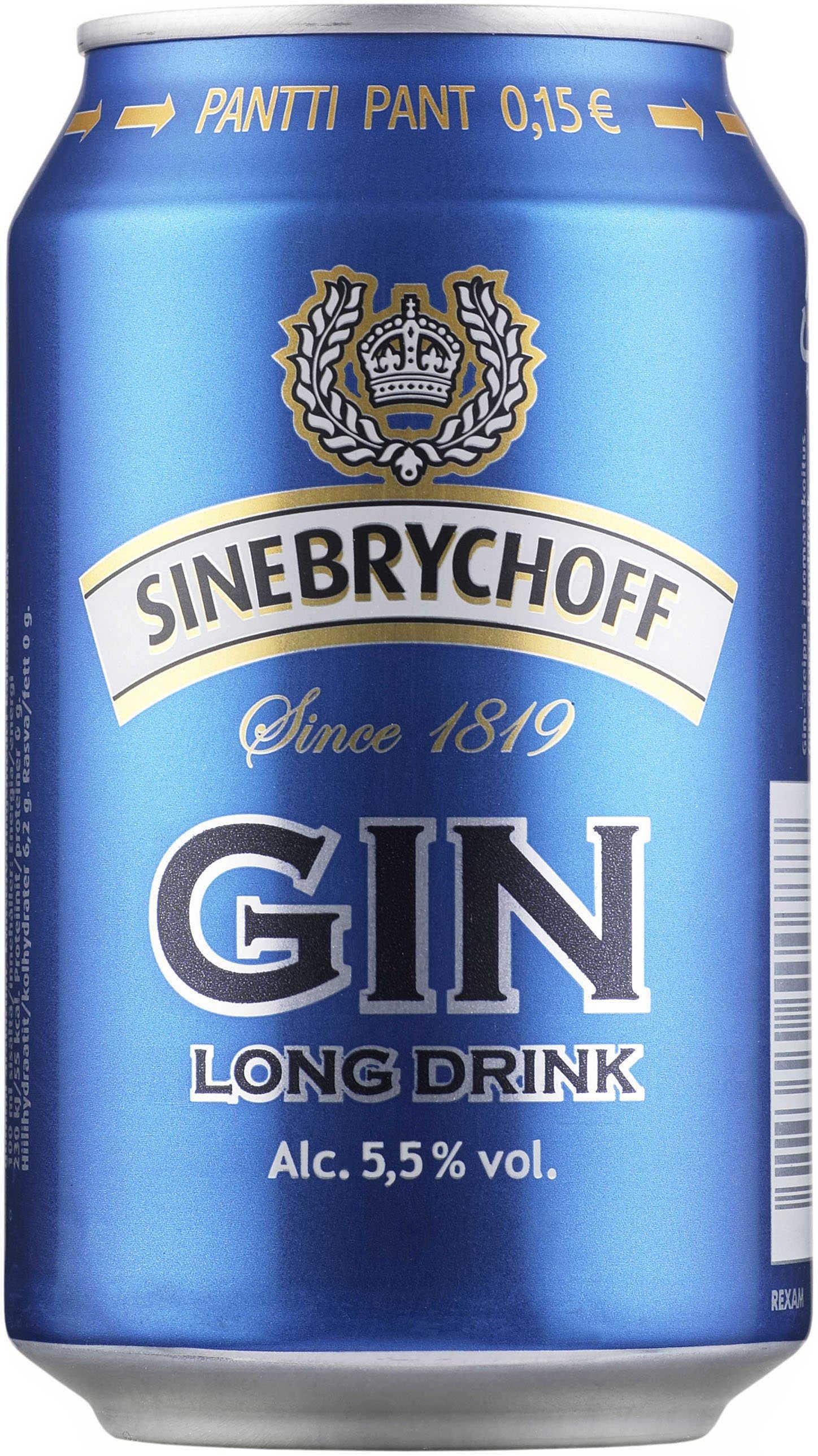 sinebrychoff gin long drink l long drinkit