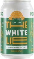 [kuva: The White Lie Saimaa Island Ice Tea tölkki]
