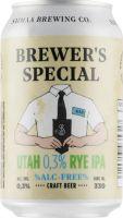 [kuva: Saimaa Brewer's Special Utah 0,3% Rye Ipa tölkki]