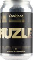 [kuva: Coolhead Huzle Double IPA tölkki]