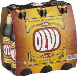 [kuva: Olvi Export A 6-pack  pullo(© Alko)]